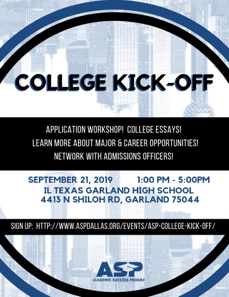 ASP College Kick Off 2019